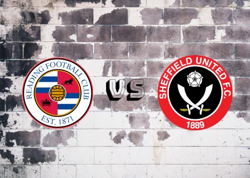 Reading vs Sheffield United  Resumen