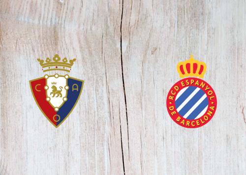 Osasuna vs Espanyol -Highlights 8 March 2020