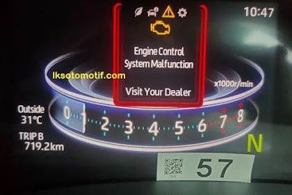 Penyebab Lampu Check Enggine Menyala Tiba-Tiba Pada Toyota Raize Dan Daihatsu Rocky