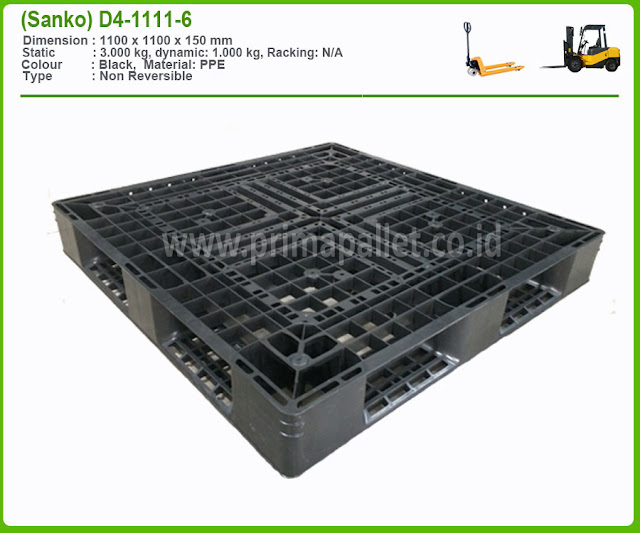 Pallet Plastik D4-1111-6 (sanko)
