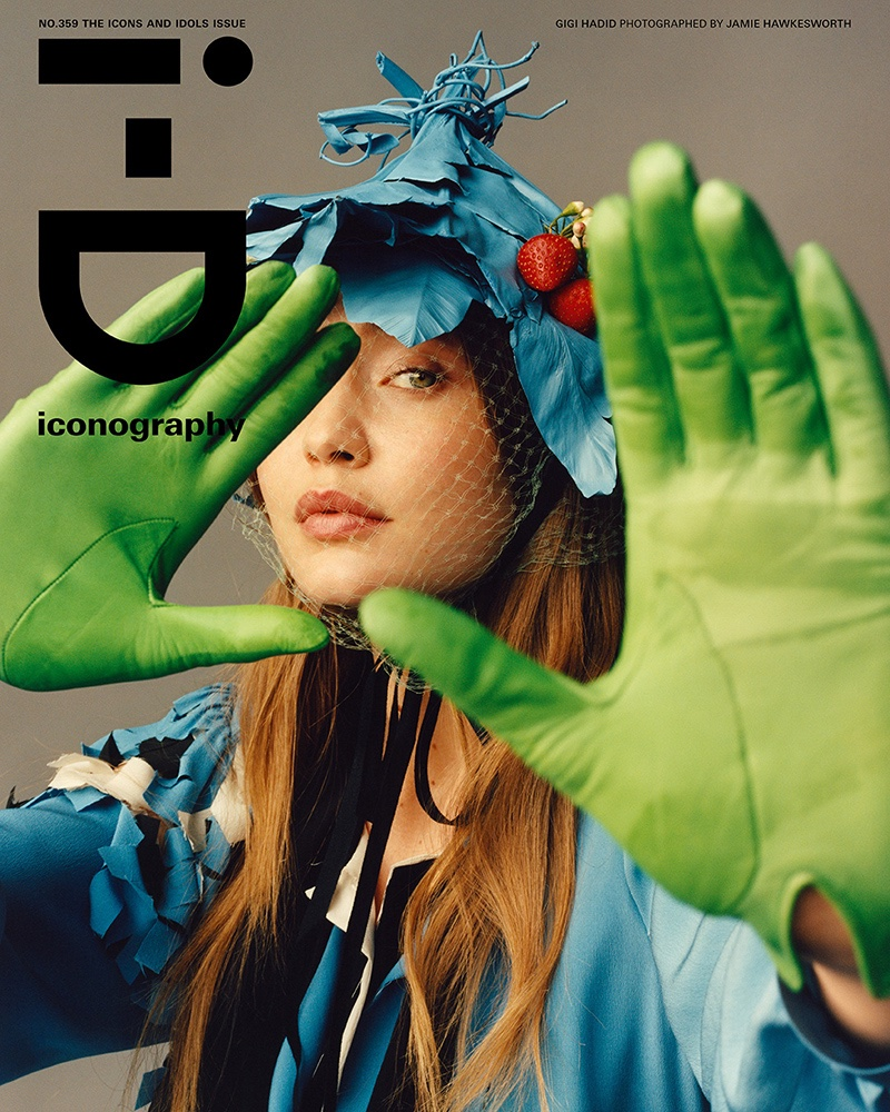 Gigi Hadid Poses in Avant-Garde Fashions for i-D Magazine
