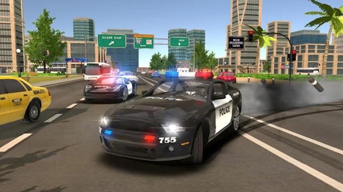 لعبة محاكاة قيادة و انجراف سيارة الشرطة Real Police Car Drift Driving Simulator 3D
