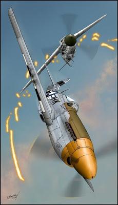 Fotografia de aviones de aguerra en ataque