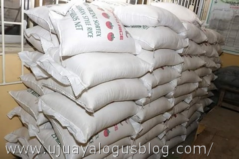 See Photos of the 102 Plastic Rice Intercepted by Nigerian Customs in Ikeja, Lagos