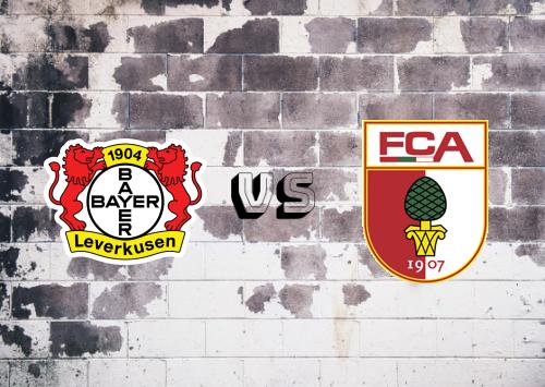 Bayer Leverkusen vs Augsburg  Resumen