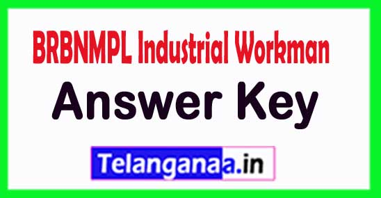 BRBNMPL Industrial Workman Answer Key 2018