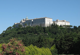 The rebuilt Abbey of Monte Cassino