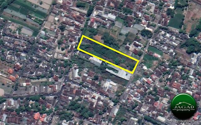 Tanah tepi jalan Palagan Km 9