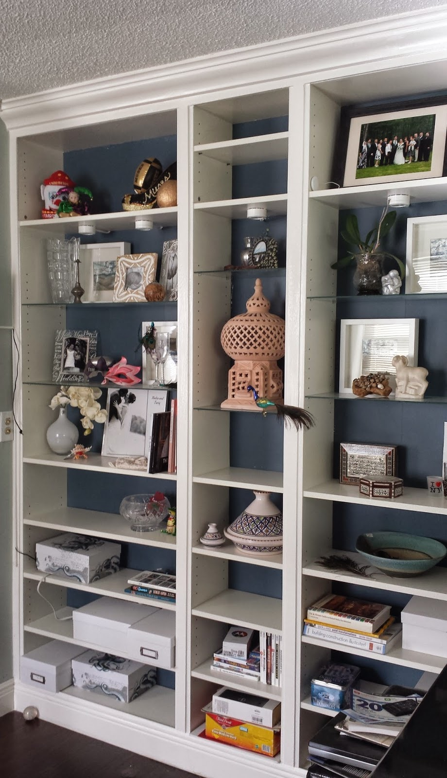 Ikea Hack Bookcase: Nadia's DIY Projects: Turn An IKEA Billy Bookcase Into A