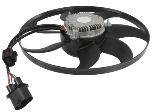 The 360mm Radiator Fan Notice Four Wires In Plug Two Thick And Thin: Audi A3 Cooling Fan Wiring Diagram At Hrqsolutions.co