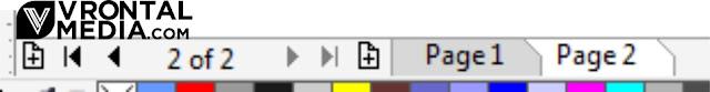fungsi document navigator pada corel draw