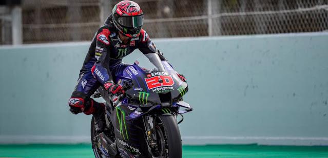 Hasil Kualifikasi MotoGP Catalunya Spanyol 2021: Quartararo Raih Pole Lagi