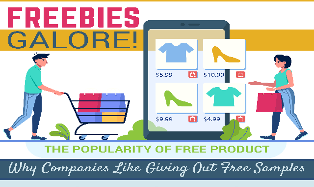 The Reasons That Businesses Will Give Away Free Stuff  #infographic