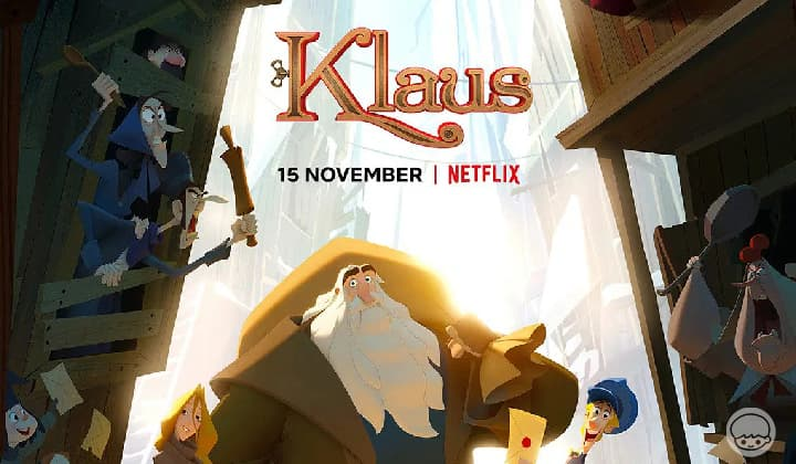 Klaus มหัศจรรย์ตำนานคริสต์มาส - แอนนิเมชั่นฉลองลมหนาวสุดอบอุ่นหัวใจ