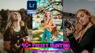 40+ Preset Lightroom Hunting Terbaik New Update XMP