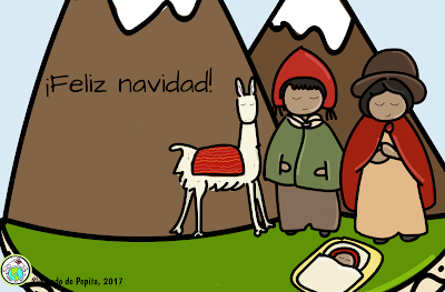 Spanish Christmas E card