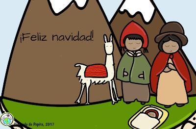 Spanish Christmas E card