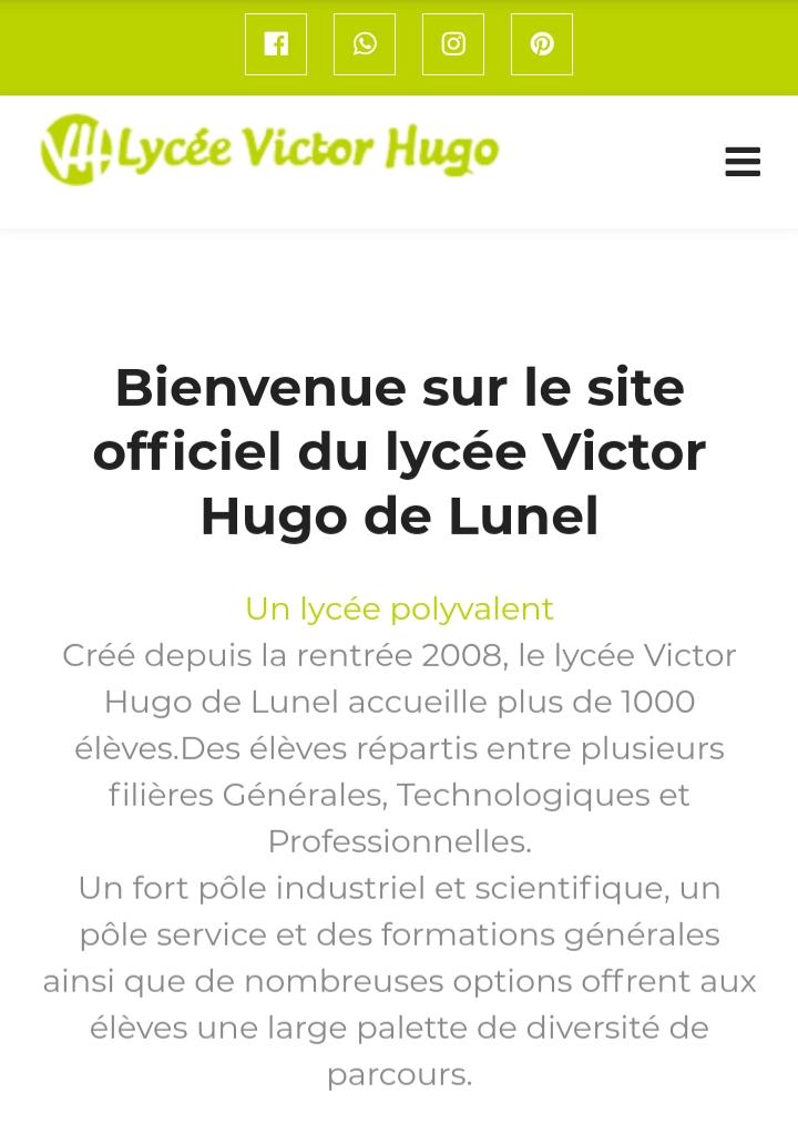 Victorhugo-lunel.fr