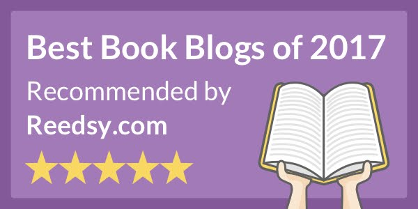 Voted #2 Best Book Blog 2017 by Reedsy