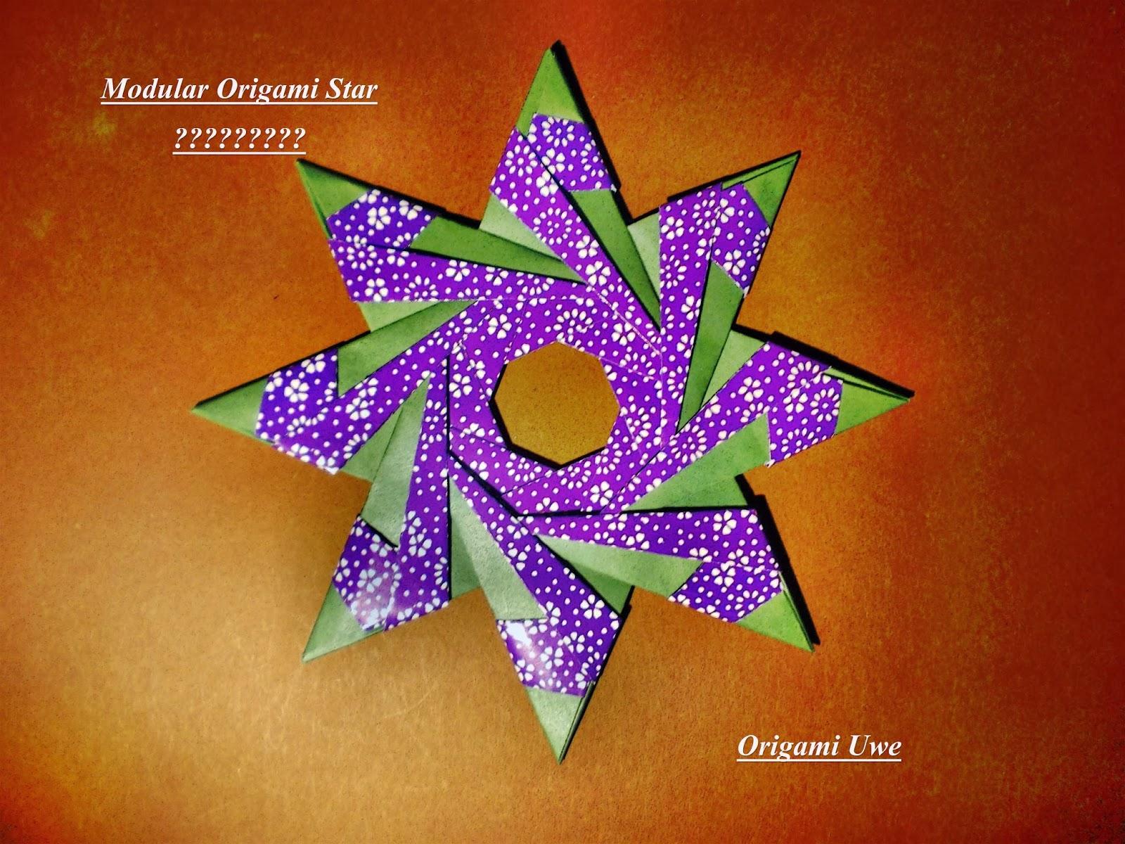 origami fleurogami und sterne dezember 2013. Black Bedroom Furniture Sets. Home Design Ideas