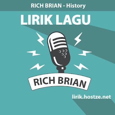 Lirik Lagu History - Rich Brian - Lirik Lagu Barat
