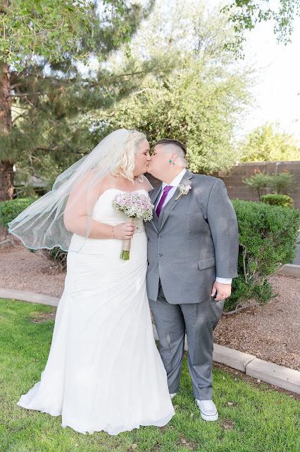 Bride Portraits at a Shenandoah Mill Lesbian Wedding in Gilbert, AZ