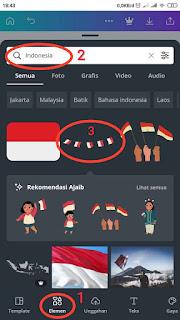 Elemen Bendera Indonesia