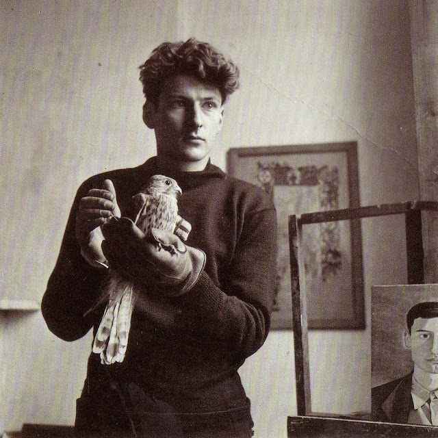 a young lucian freud