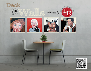 Deck the Wall with art by Tom Roderick