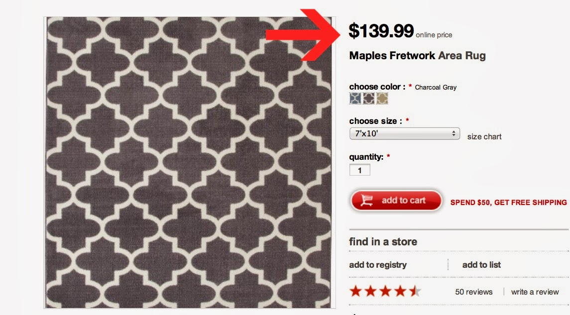 Tips for Thrifty Shopping at Target: A Rug Story | Home Everyday
