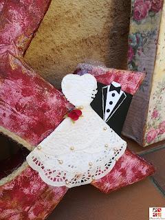 diy letras boda
