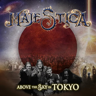"""Ο δίσκος των Majestica """"Above the Sky in Tokyo (Live)"""""""