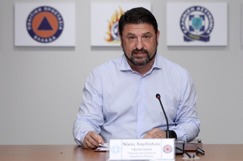 Χαρδαλιάς: 650 τα ενεργά κρούσματα στην Ελλάδα - Αυτά είναι τα νέα μέτρα