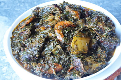 Okazi Affang Soup