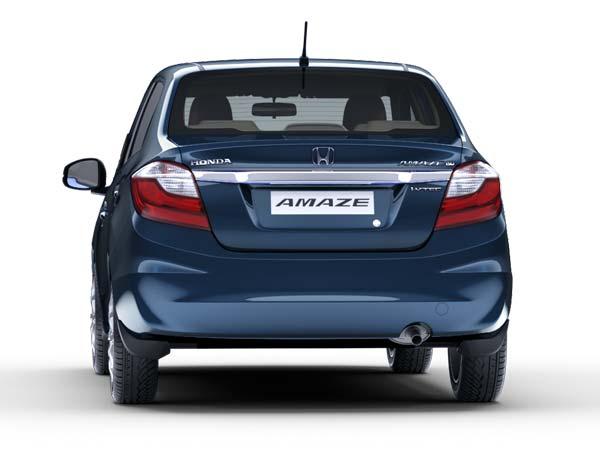 Honda Amaze rear view hd wallpaper