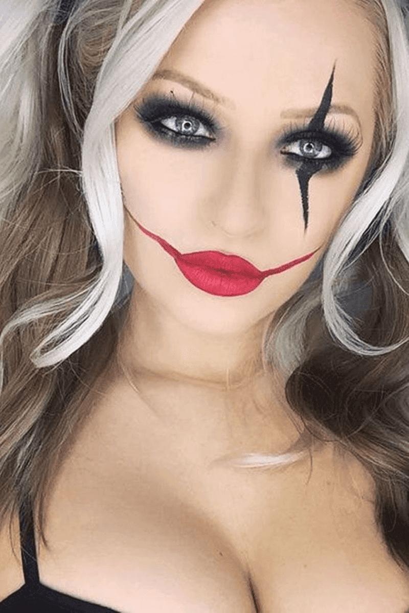 Maquiagem Palhaça Halloween