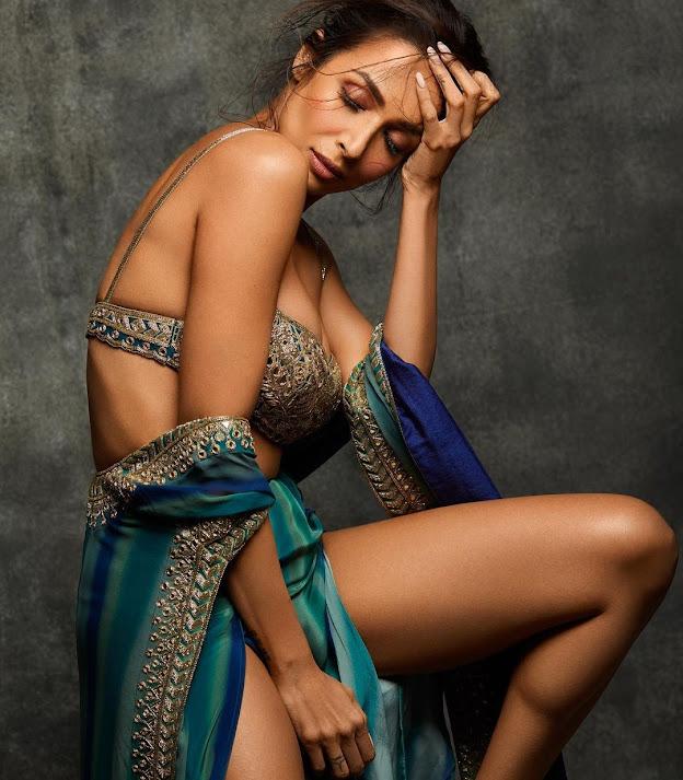 Malaika Arora Stuns in a Tiny Blouse-Skirt, Fans Call Her 'Burning Hot'