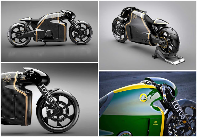 C-1 MOTORCYCLE BY LOTUS