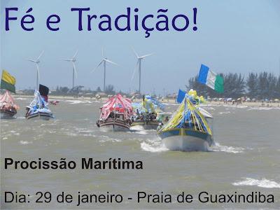 Resultado de imagem para procissao maritima em guaxindiba