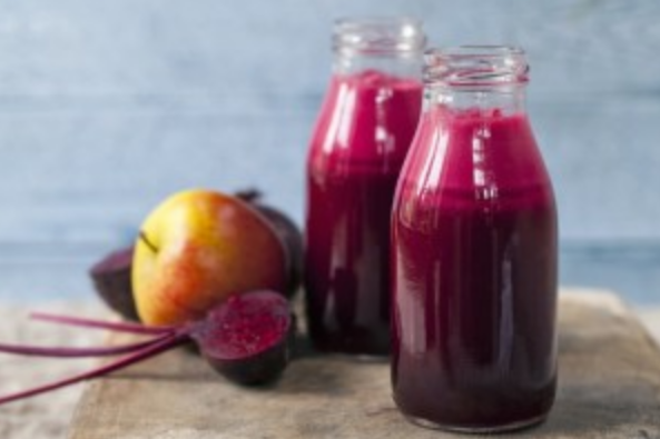 Beetroot and apple juice detoxifies the body