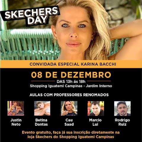 Skechers realiza evento com atividades físicas no Shopping Iguatemi, em Campinas