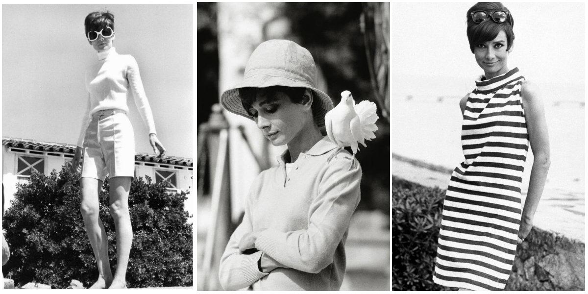 """Audrey Hepburn. За кадром фильма """"Двое на дороге"""" 1967"""