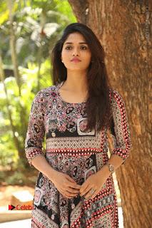 Actress Sunaina Latest Stills in Floral Dress at Pelliki Mundu Prema Katha Trailer Launch  0009.JPG