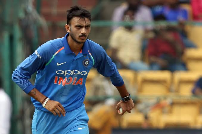 Indian Mens Cricket player Axar Patel