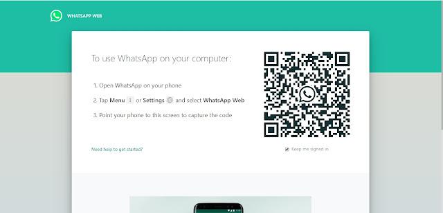 Membuka dan Menggunakan WhatsApp di PC / Komputer / Laptop