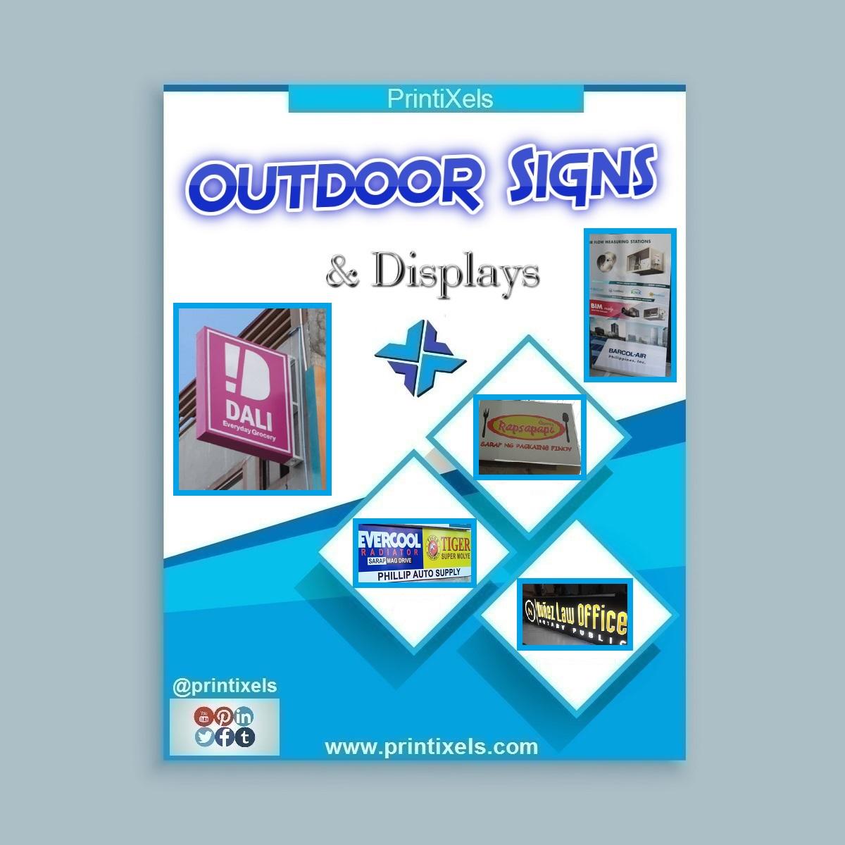 Custom Outdoor Signs & Displays Philippines