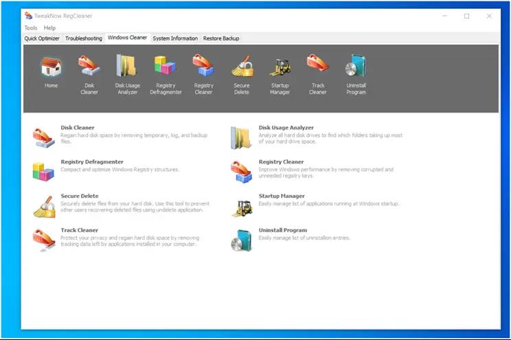 TweakNow RegCleaner : Διαγράψτε τις άχρηστες καταχωρήσεις από το μητρώο των Windows