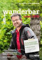 """Das Cover der neuen Ausgabe """"Wunderbar wanderbar"""" mit Manuel Andrack"""