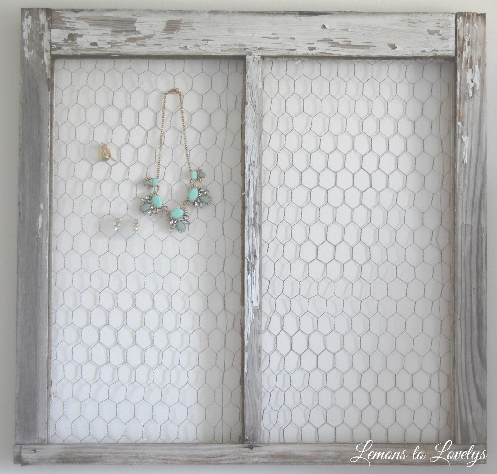 DIY Jewelry Holder – Lemons to Lovelys