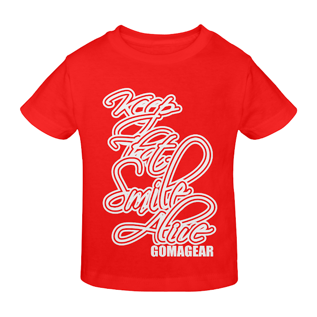 GOMAGEAR KTSA KEEP THAT SMILE ALIVE YOUTH T-SHIRT - R